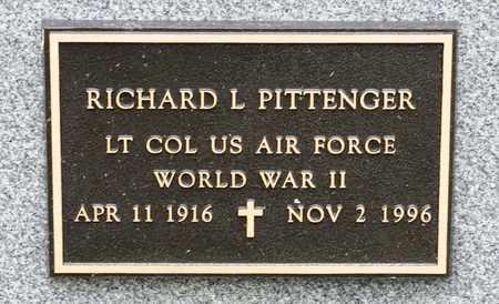 PITTENGER, RICHARD L - Richland County, Ohio | RICHARD L PITTENGER - Ohio Gravestone Photos