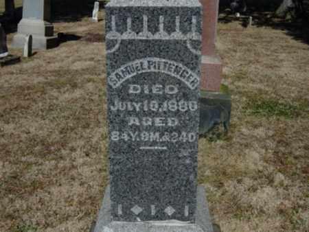 PITTENGER, SAMUEL - Richland County, Ohio   SAMUEL PITTENGER - Ohio Gravestone Photos