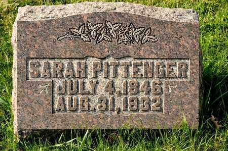 PITTENGER, SARAH - Richland County, Ohio | SARAH PITTENGER - Ohio Gravestone Photos