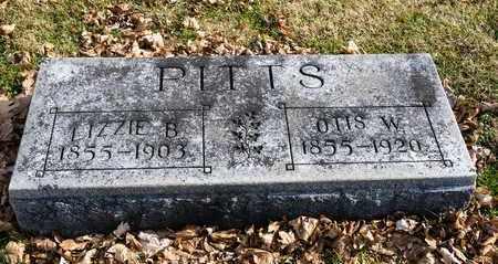 PITTS, LIZZIE B - Richland County, Ohio | LIZZIE B PITTS - Ohio Gravestone Photos