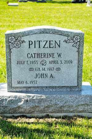 PITZEN, CATHERINE W - Richland County, Ohio | CATHERINE W PITZEN - Ohio Gravestone Photos