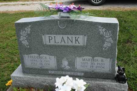 PLANK, FREDERICKL - Richland County, Ohio | FREDERICKL PLANK - Ohio Gravestone Photos