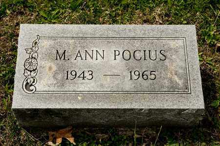 POCIUS, M ANN - Richland County, Ohio | M ANN POCIUS - Ohio Gravestone Photos
