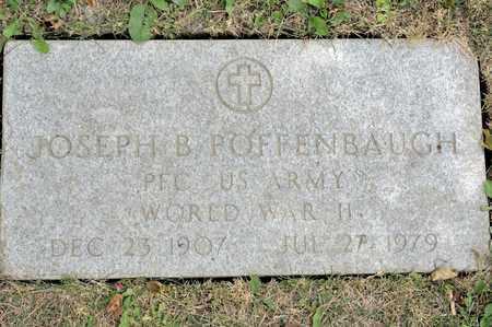 POFFENBAUGH, JOSEPH B - Richland County, Ohio | JOSEPH B POFFENBAUGH - Ohio Gravestone Photos