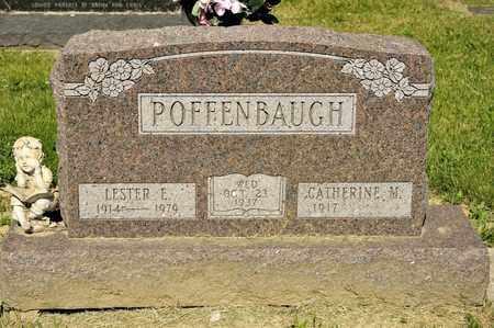 POFFENBAUGH, LESTER E - Richland County, Ohio | LESTER E POFFENBAUGH - Ohio Gravestone Photos