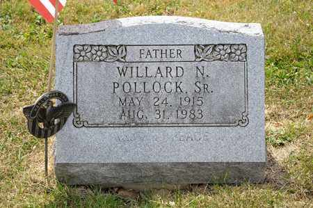 POLLOCK SR, WILLARD N - Richland County, Ohio | WILLARD N POLLOCK SR - Ohio Gravestone Photos