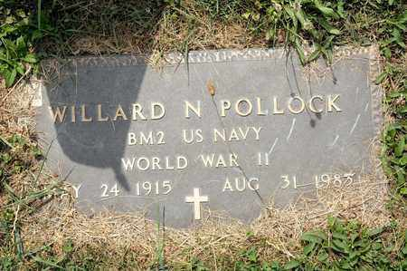 POLLOCK, WILLARD N - Richland County, Ohio | WILLARD N POLLOCK - Ohio Gravestone Photos