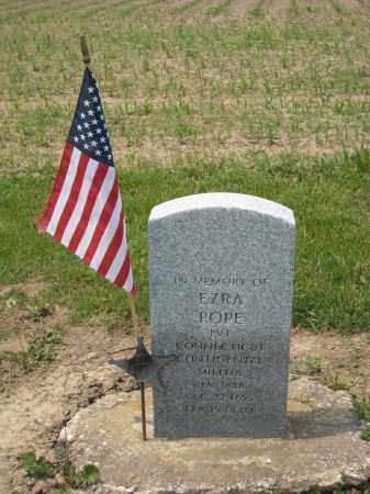 POPE, EZRA - Richland County, Ohio | EZRA POPE - Ohio Gravestone Photos