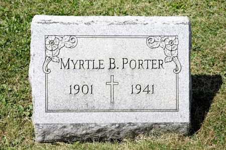 PORTER, MYRTLE B - Richland County, Ohio | MYRTLE B PORTER - Ohio Gravestone Photos
