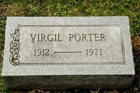 PORTER, VIRGIL - Richland County, Ohio   VIRGIL PORTER - Ohio Gravestone Photos