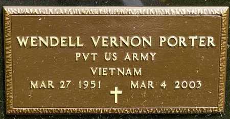 PORTER, WENDELL VERNON - Richland County, Ohio   WENDELL VERNON PORTER - Ohio Gravestone Photos