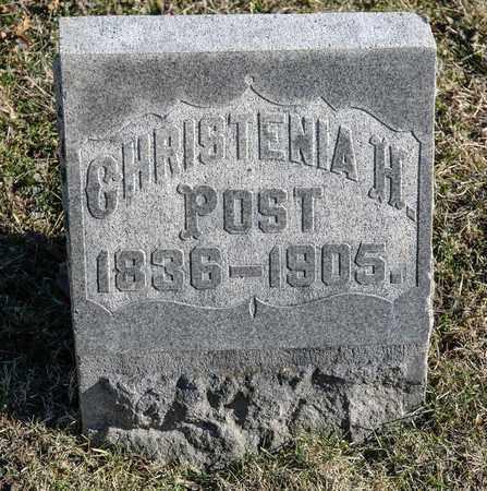 POST, CHRISTENIA H - Richland County, Ohio | CHRISTENIA H POST - Ohio Gravestone Photos