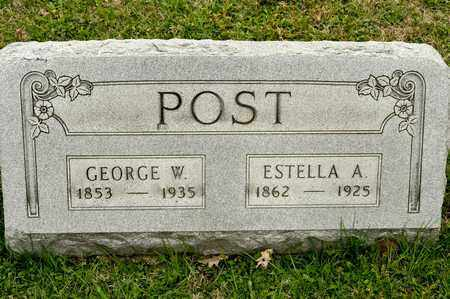 POST, GEORGE W - Richland County, Ohio | GEORGE W POST - Ohio Gravestone Photos