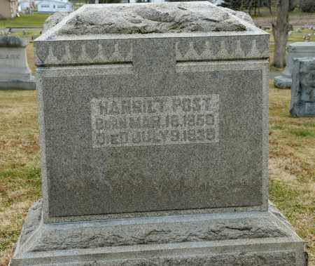 POST, HARRIET - Richland County, Ohio | HARRIET POST - Ohio Gravestone Photos