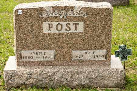 POST, MYRTLE - Richland County, Ohio   MYRTLE POST - Ohio Gravestone Photos