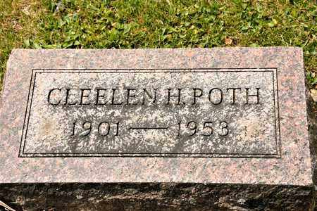 POTH, CLEELEN H - Richland County, Ohio   CLEELEN H POTH - Ohio Gravestone Photos