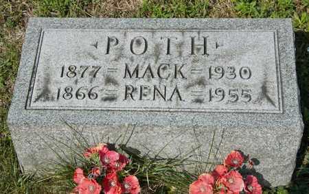 POTH, MACK - Richland County, Ohio | MACK POTH - Ohio Gravestone Photos