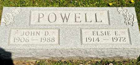 POWELL, JOHN D - Richland County, Ohio | JOHN D POWELL - Ohio Gravestone Photos