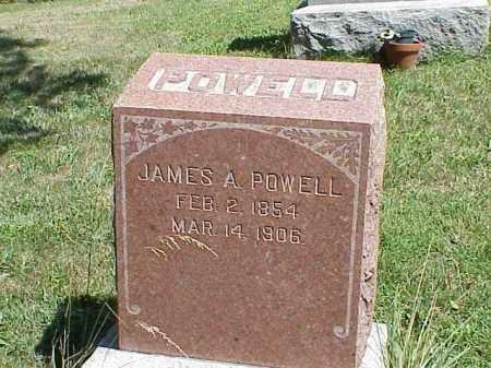 POWELL, JAMES A. - Richland County, Ohio   JAMES A. POWELL - Ohio Gravestone Photos