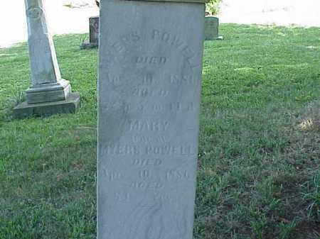 POWELL, MARY - Richland County, Ohio | MARY POWELL - Ohio Gravestone Photos