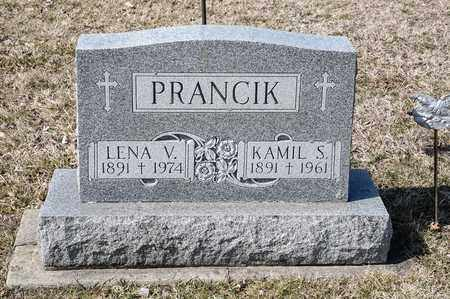PRANCIK, LENA V - Richland County, Ohio | LENA V PRANCIK - Ohio Gravestone Photos