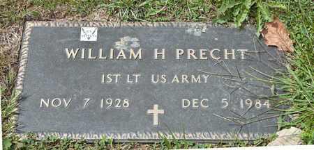PRECHT, WILLIAM H - Richland County, Ohio | WILLIAM H PRECHT - Ohio Gravestone Photos