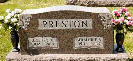 PRESTON, GERALDINE B - Richland County, Ohio | GERALDINE B PRESTON - Ohio Gravestone Photos