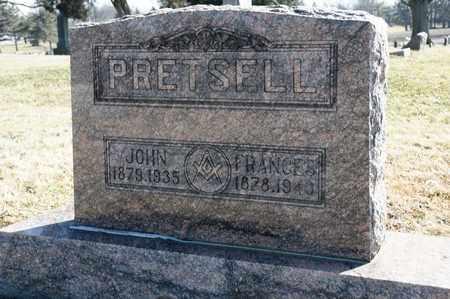 PRETSELL, FANCES - Richland County, Ohio | FANCES PRETSELL - Ohio Gravestone Photos