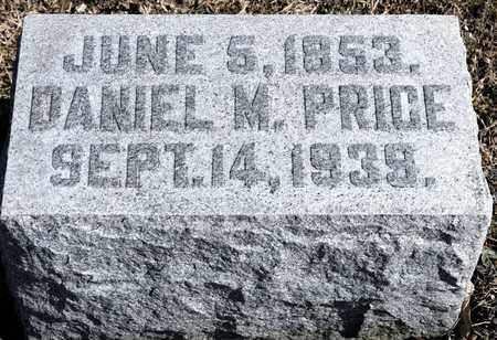 PRICE, DANIEL M - Richland County, Ohio   DANIEL M PRICE - Ohio Gravestone Photos