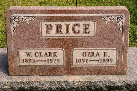 PRICE, W CLARK - Richland County, Ohio | W CLARK PRICE - Ohio Gravestone Photos