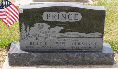 DAVIS PRINCE, CHRISTINE E - Richland County, Ohio | CHRISTINE E DAVIS PRINCE - Ohio Gravestone Photos