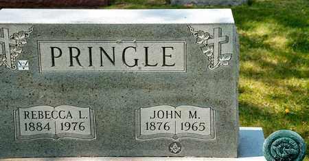 PRINGLE, JOHN M - Richland County, Ohio | JOHN M PRINGLE - Ohio Gravestone Photos