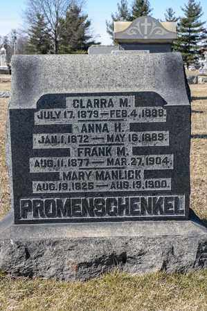 PROMENSCHENKEL, MARY - Richland County, Ohio | MARY PROMENSCHENKEL - Ohio Gravestone Photos