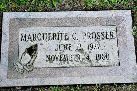 PROSSER, MARGUERITE G - Richland County, Ohio   MARGUERITE G PROSSER - Ohio Gravestone Photos