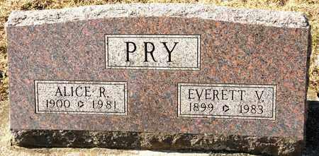 PRY, ALICE R - Richland County, Ohio | ALICE R PRY - Ohio Gravestone Photos