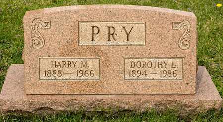 PRY, DOROTHY L - Richland County, Ohio | DOROTHY L PRY - Ohio Gravestone Photos
