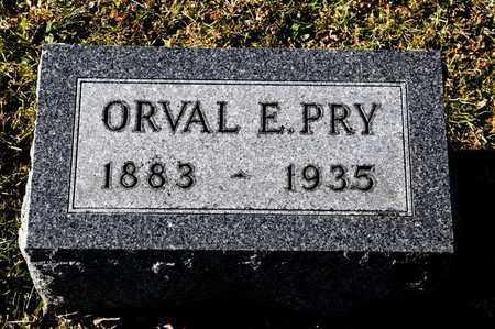 PRY, ORVAL E - Richland County, Ohio | ORVAL E PRY - Ohio Gravestone Photos