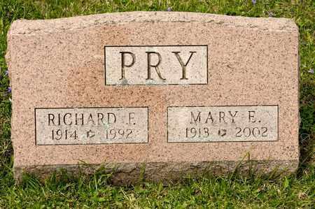 PRY, MARY E - Richland County, Ohio | MARY E PRY - Ohio Gravestone Photos