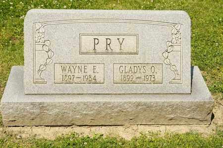 PRY, WAYNE E - Richland County, Ohio | WAYNE E PRY - Ohio Gravestone Photos