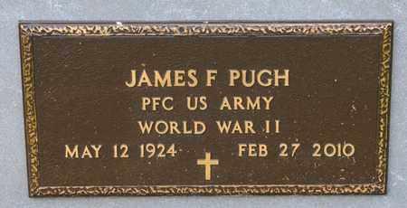 PUGH, JAMES F - Richland County, Ohio | JAMES F PUGH - Ohio Gravestone Photos