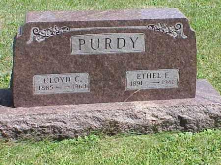 PURDY, ETHEL F. - Richland County, Ohio | ETHEL F. PURDY - Ohio Gravestone Photos
