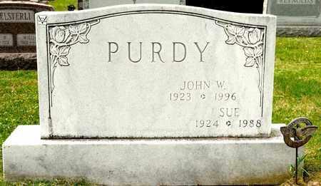 PURDY, JOHN W - Richland County, Ohio | JOHN W PURDY - Ohio Gravestone Photos