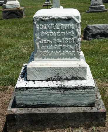QUIN, DANIEL - Richland County, Ohio | DANIEL QUIN - Ohio Gravestone Photos