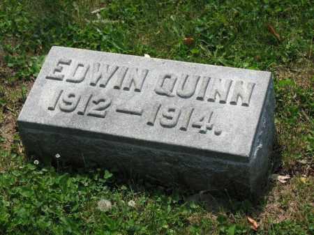 QUINN, EDWIN - Richland County, Ohio   EDWIN QUINN - Ohio Gravestone Photos