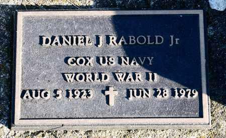 RABOLD, DANIEL J - Richland County, Ohio | DANIEL J RABOLD - Ohio Gravestone Photos