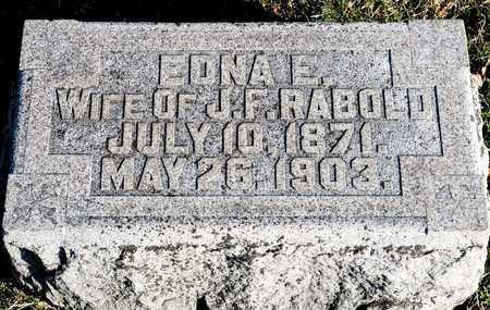 RABOLD, EDNA E - Richland County, Ohio   EDNA E RABOLD - Ohio Gravestone Photos
