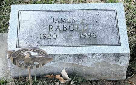 RABOLD, JAMES F - Richland County, Ohio | JAMES F RABOLD - Ohio Gravestone Photos