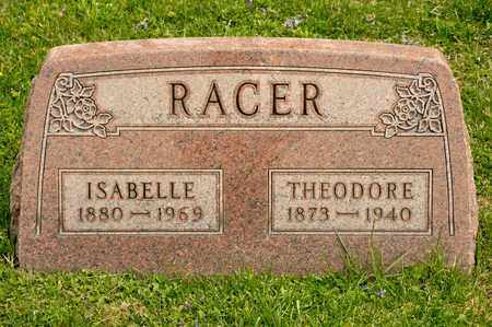 RACER, THEODORE - Richland County, Ohio | THEODORE RACER - Ohio Gravestone Photos
