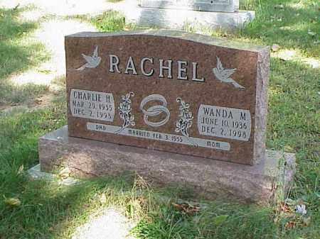RACHEL, CHARLIE H. - Richland County, Ohio | CHARLIE H. RACHEL - Ohio Gravestone Photos