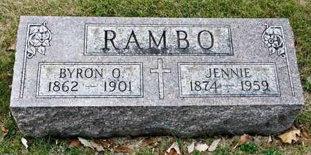 RAMBO, JENNIE - Richland County, Ohio | JENNIE RAMBO - Ohio Gravestone Photos